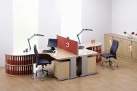 Офис обзавеждане от пдч за  две места