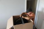 преместване и транспортиране на дрехи