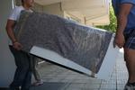 преместване на мебели с опаковане в страната