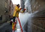 Премахване на графити от фасади