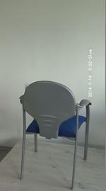 Индивидуални поръчки на червени офис столове