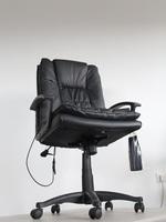 евтини черни офис столове