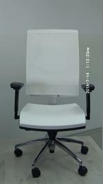 производство на офис столове в бял цвят