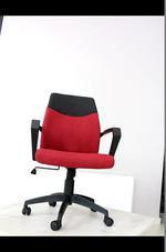 обзавеждане с червени офис столове